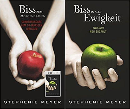 [Rezension] Biss-Jubiläumsausgabe – Biss zum Morgengrauen / Biss in alle Ewigkeit von Stephenie Meyer