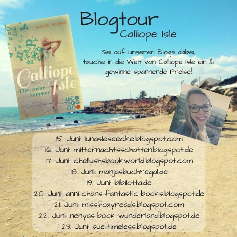 [Blogtour] TAG 9: Calliope Island –  Der siebte Sommer – von Marie Menke