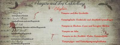 """[Halloween – Blogtour] """"Vampire und ihre Entwicklung"""" Tag 6 : VAMPIRJÄGER"""