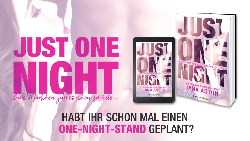 Jana Aston Just One Night Banner